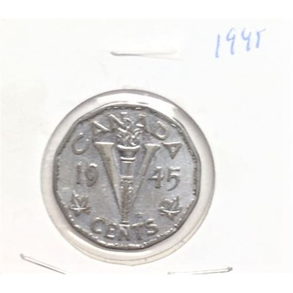 1945 Canadian 5 Cent