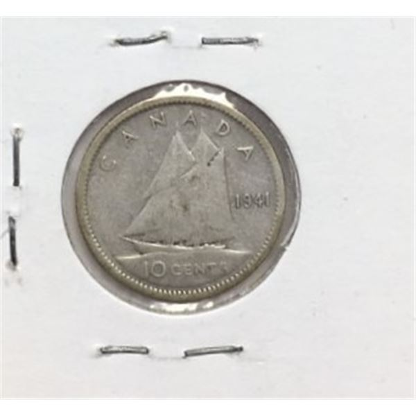 1941 Canadian 10 Cent