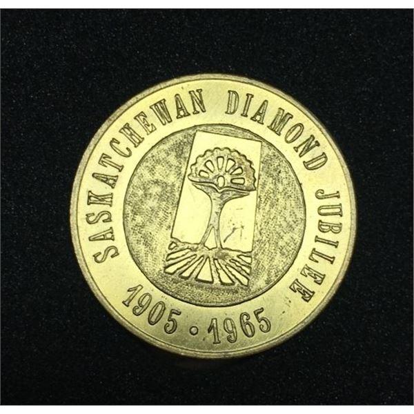 1965 Saskatchewan Token