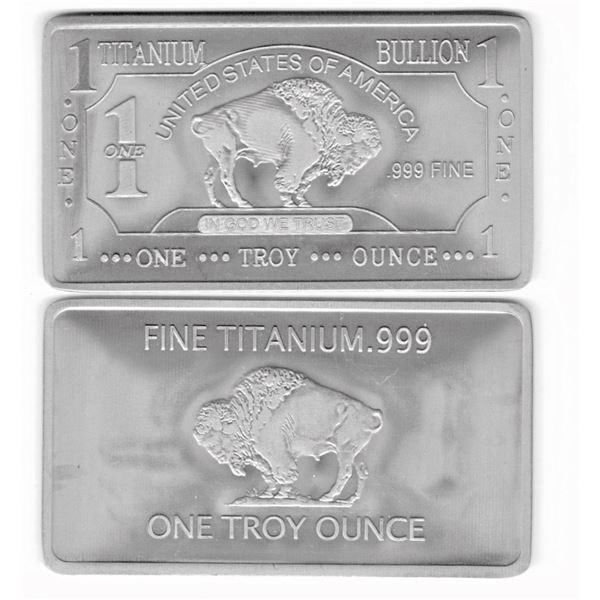 TWO Troy Ounces of Titanium
