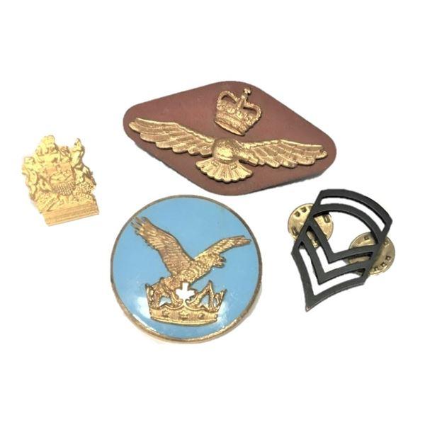 RCAF/Military Pin Backs