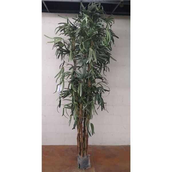 "Very Tall Artificial Palm Tree 103"" Tall"