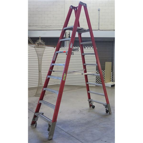 Werner Electro-Master Non-Conductive Fiberglass Step Ladder Type 1A  PT7408
