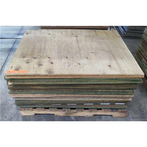 "Pallet 26 Plywood Sheets 48""L x 36"" W x 3/4"""