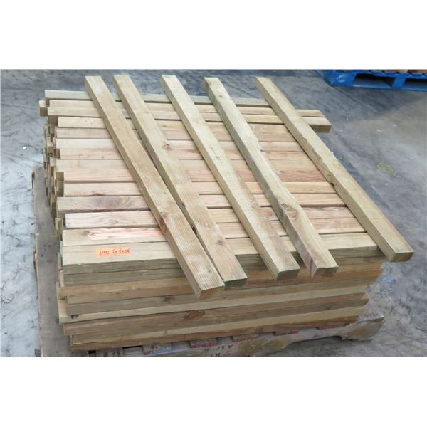 "Pallet of Multiple Dimensional Lumber 2"" x 3"" x 38"" Long"
