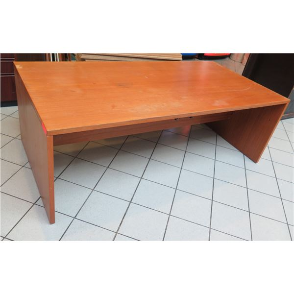 "Long Wooden Desk Table 83""x40""x28"""