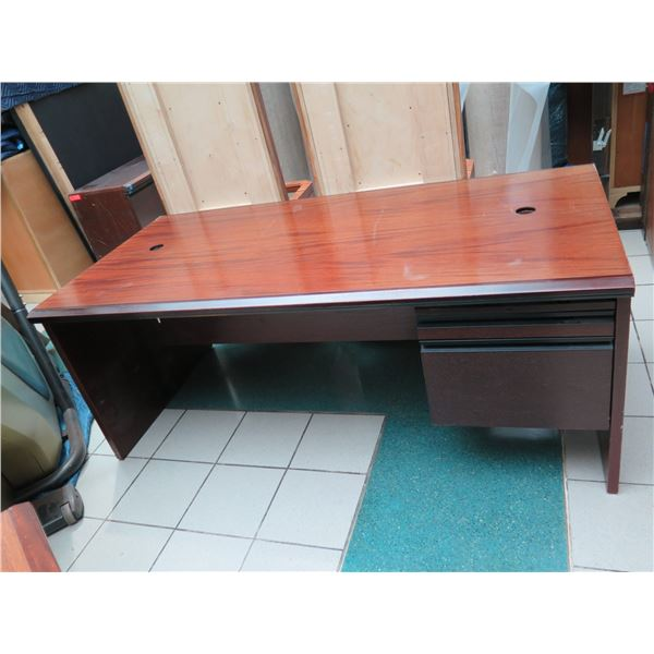 """Large Desk with Drawers 72"""" x 36"""" x 29""""H"""