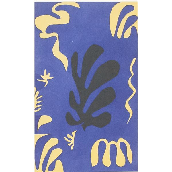 Henri Matisse French Lithograph 46/50 Signed