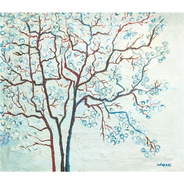 Kim Whanki Korean Modernist Oil on Canvas