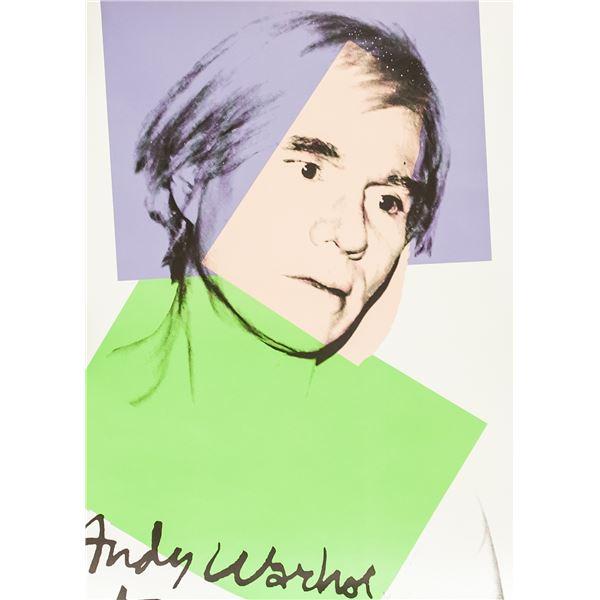 "Andy Warhol Litho ""Self Portrait 1978"" Limited Ed."
