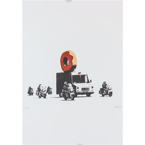Banksy British Pop Signed Lithograph 15/60