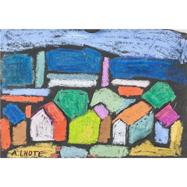 Andre Lhote French Pastel on Paper