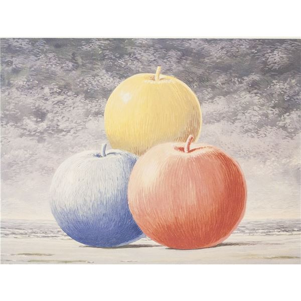 Rene Magritte Belgian Signed Lithograph 15/200
