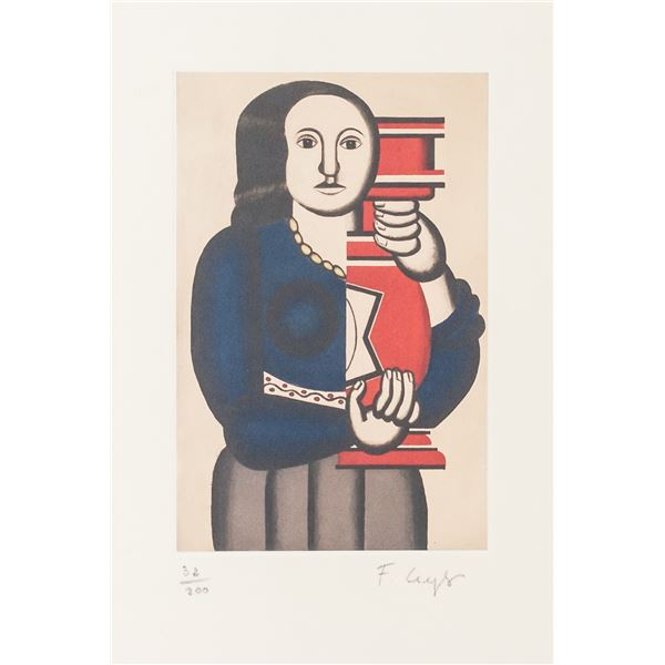 Fernand Leger French Signed Lithograph 32/200