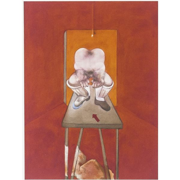 Francis Bacon British Lithograph 16/100 Signed