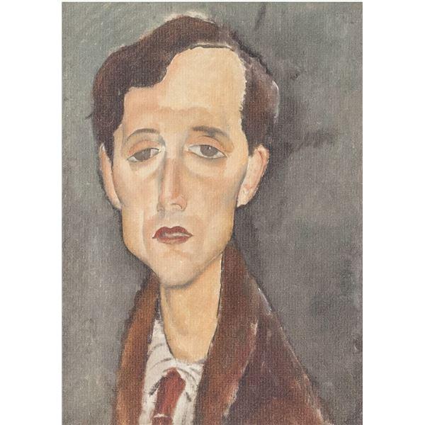 Amedeo Modigliani Italian Signed Lithograph 34/100