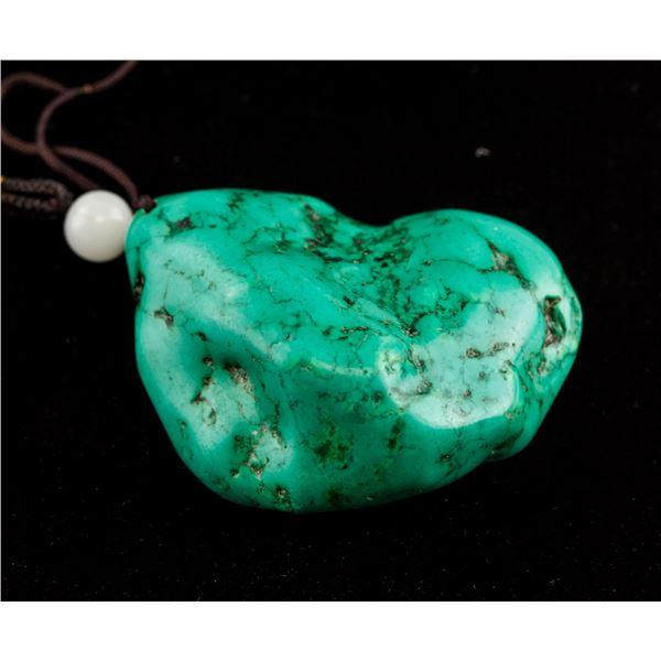 Chinese Turquoise Stone Toggle