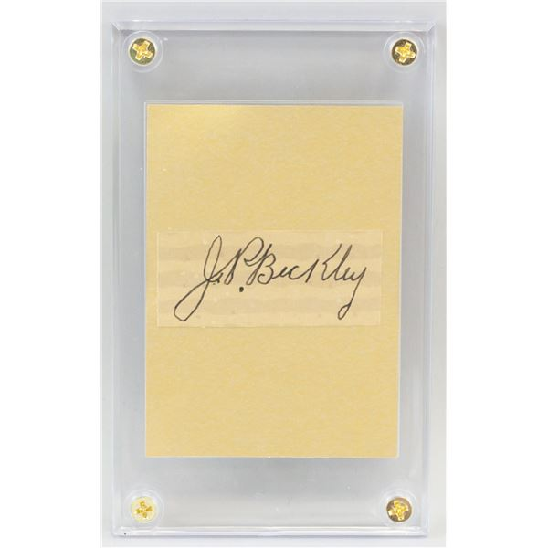 Jake Beckley 1867-1918 American Autograph Card