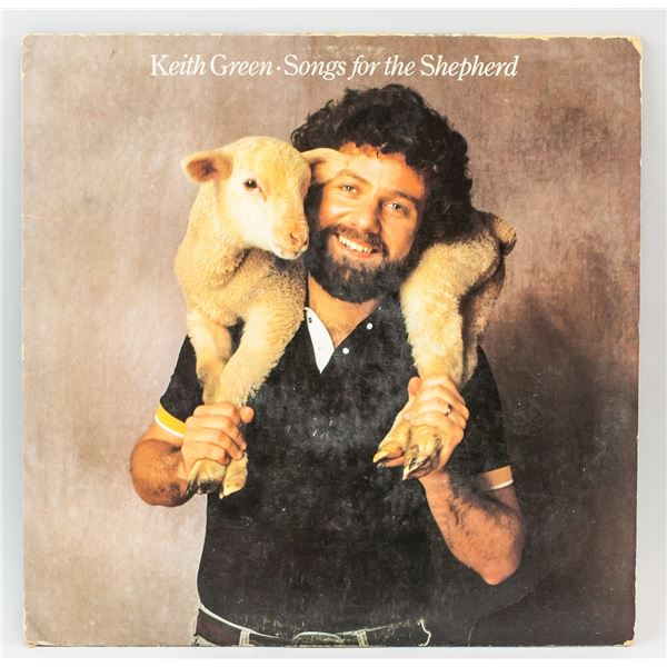 Keith Green Songs for the Shepard Vinyl