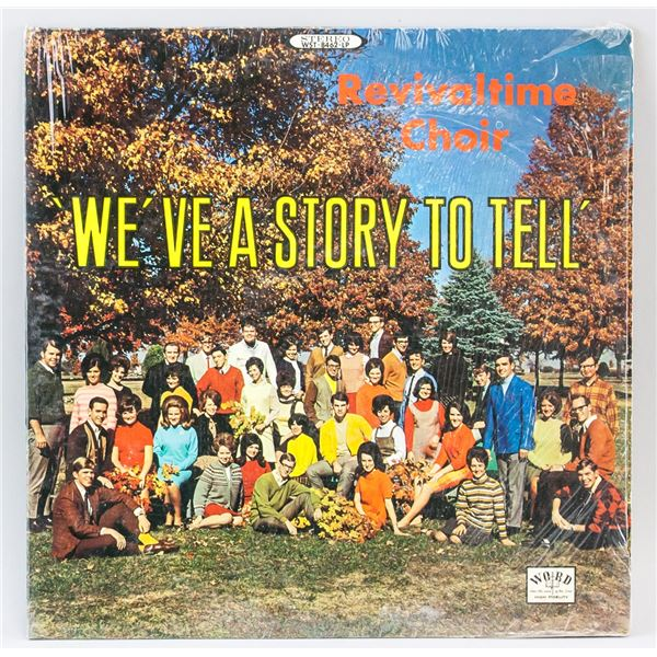 Revivaltime Choir We've a Story to Tell Vinyl