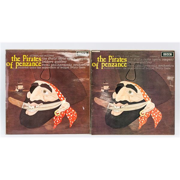 The Pirates of Penzance Vinyl 2pc