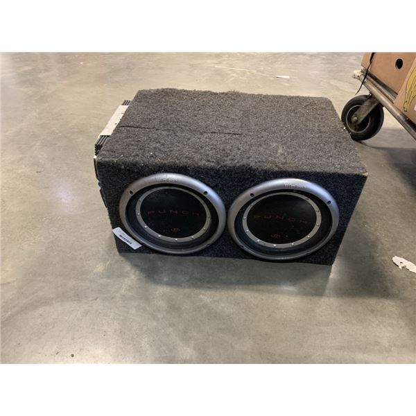 PUNCH SUB WITH INFINITY AMP