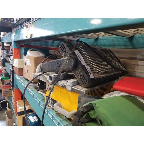 TILE CUTTER AND RADIANT HEATER
