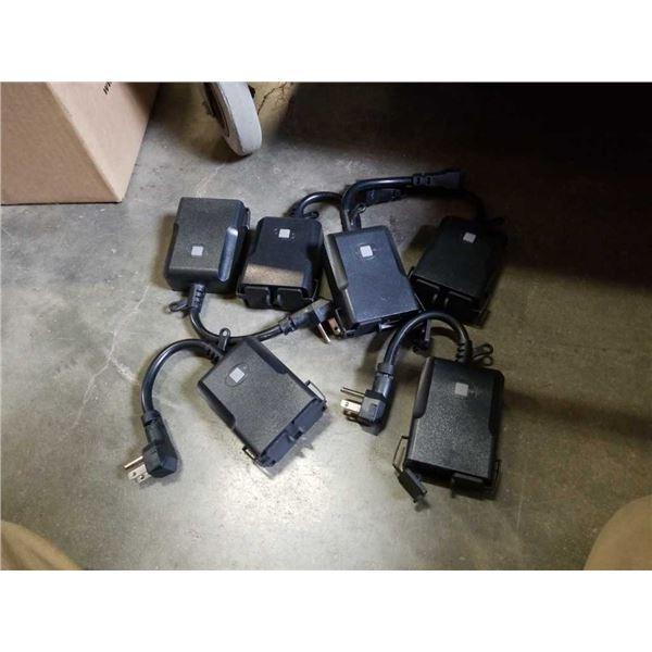 6 as new smart wifi electric splitter plugs
