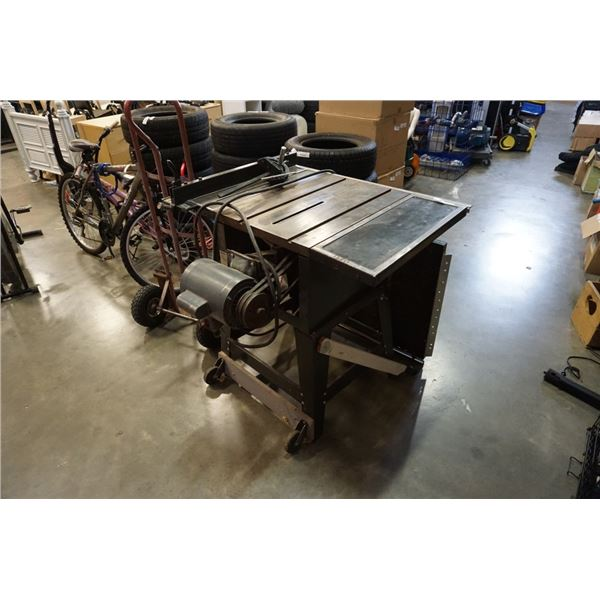 """Craftsman 10"""" table saw with fence and extension"""