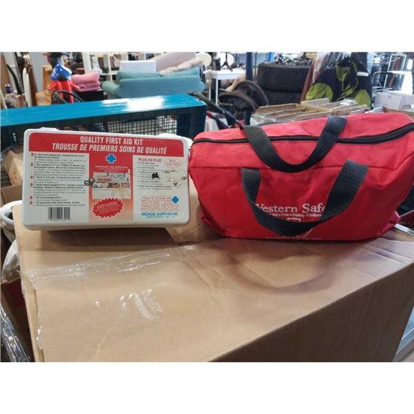 2 new first aid kits