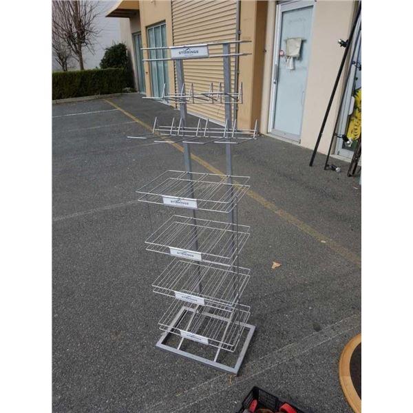 5.5 foot wire display rack
