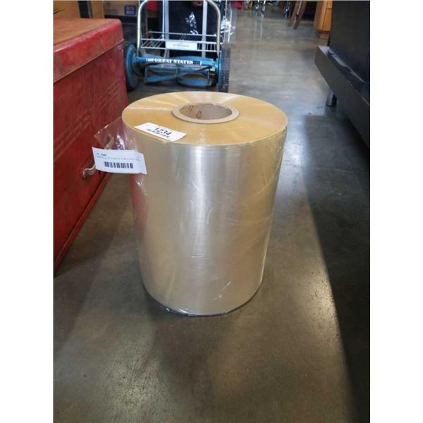 LARGE ROLL OF PLASTIC FILM 1 FOOT WIDE