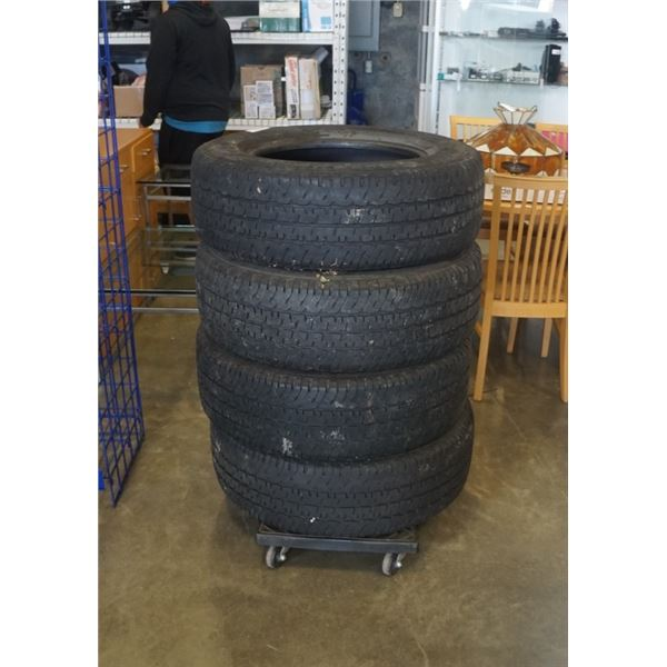 SET OF FOUR MICHELIN LT265/70R18 INCH TIRES