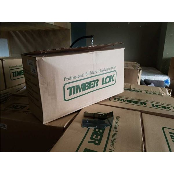 BOX OF TIMBER LOK 2x6 SHORT SINGLE JOIST HANGERS 200PCS