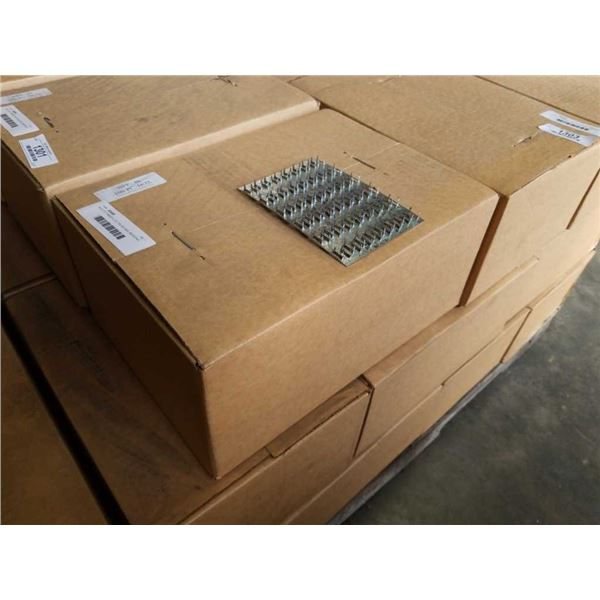 BOX OF TIMBER LOK TRUSS NAIL MENDING PLATES 100PCS