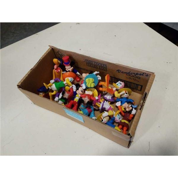 BOX OF DISNEY EPCOT TOYS