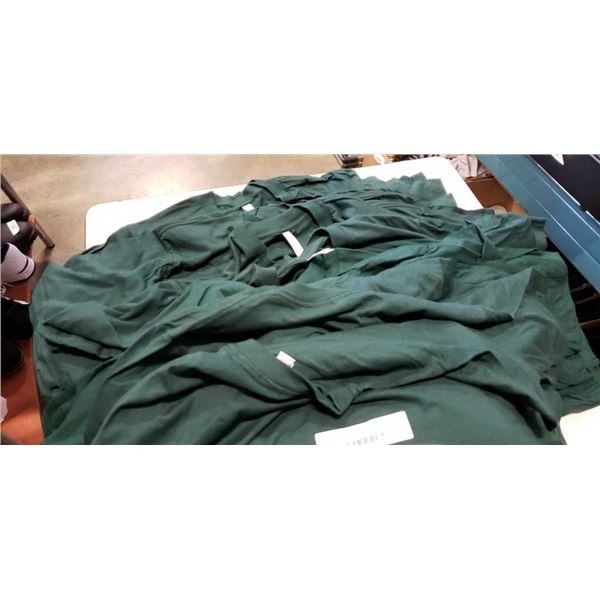 33 NEW GREEN AMERICAN APPAREL SHIRTS - VARIOUS SIZES