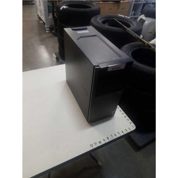 Dell I7 computer tower with contents