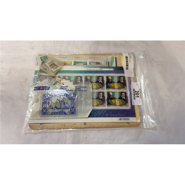 PACKAGE OF STAMPS