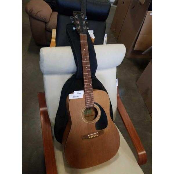 SIMON AND PATRICK LUTHIER S&P 6 CEDAR - WITH ELECTRIC PICKUP