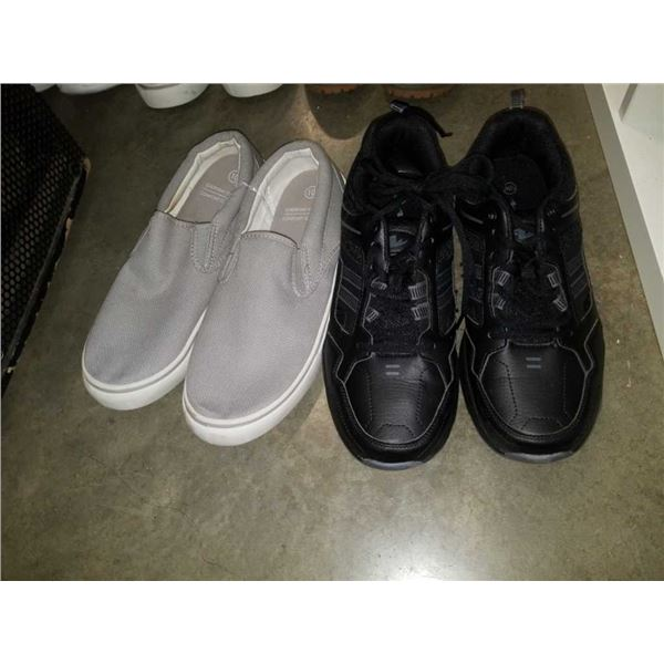 Two new pairs of size 10 comfort shoes