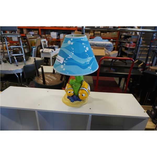 FINDING NEMO TABLE LAMP