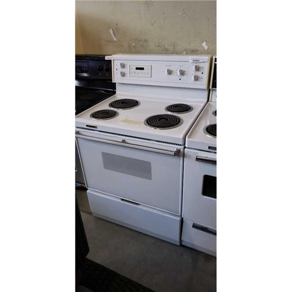 WHITE WESTINGHOUSE STOVE - WORKING
