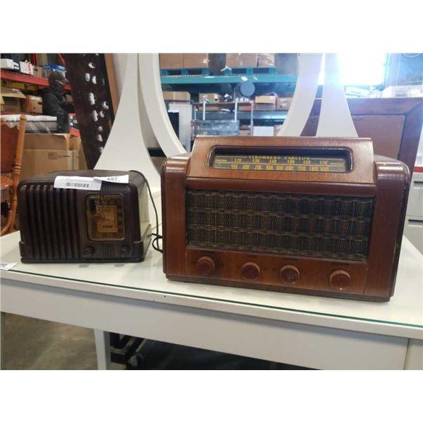 RCA master nipper 500 radio and stromberg carlson radio both working