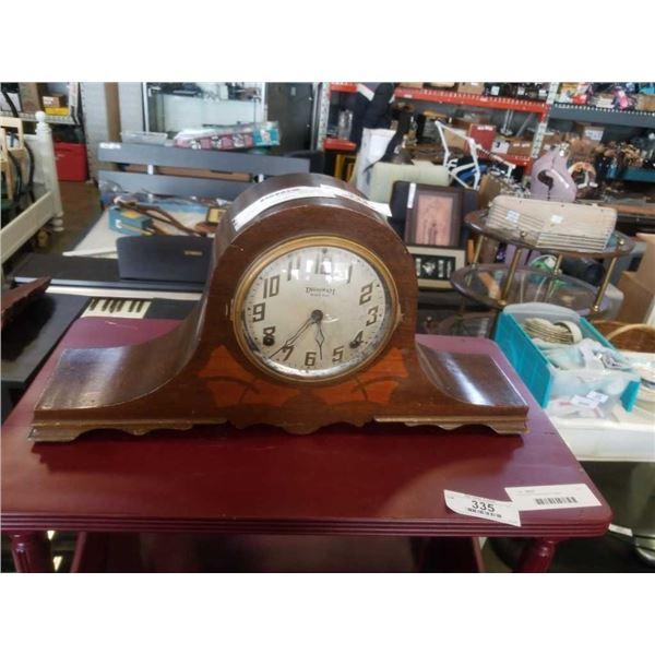 Vintage ingraham mantle clock