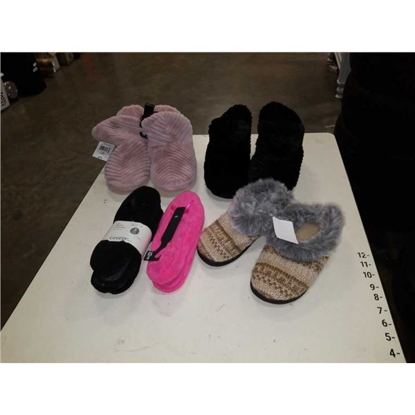 Lot of new slippers and comfy shoes size 7 to 10