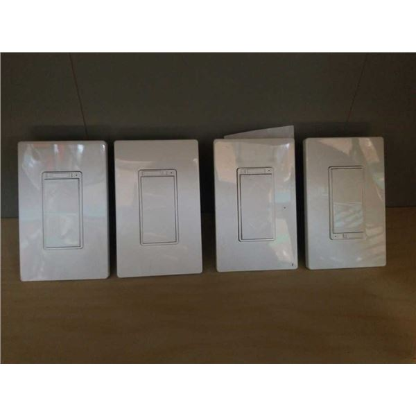 4 NEW SMART WIFI DIMMER SWITCHES