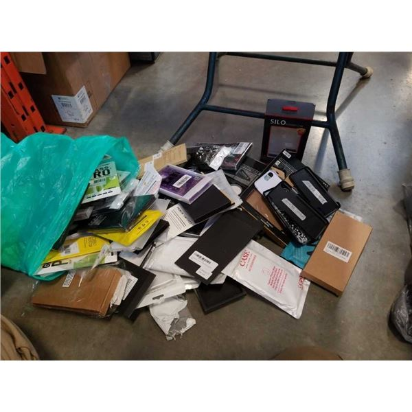 LARGE LOT OF PHONE CASES