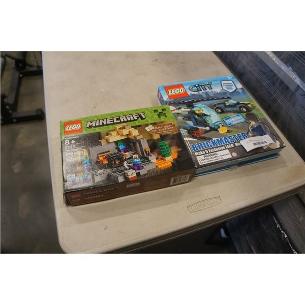 LEGO CITY AND MINECRAFT SETS