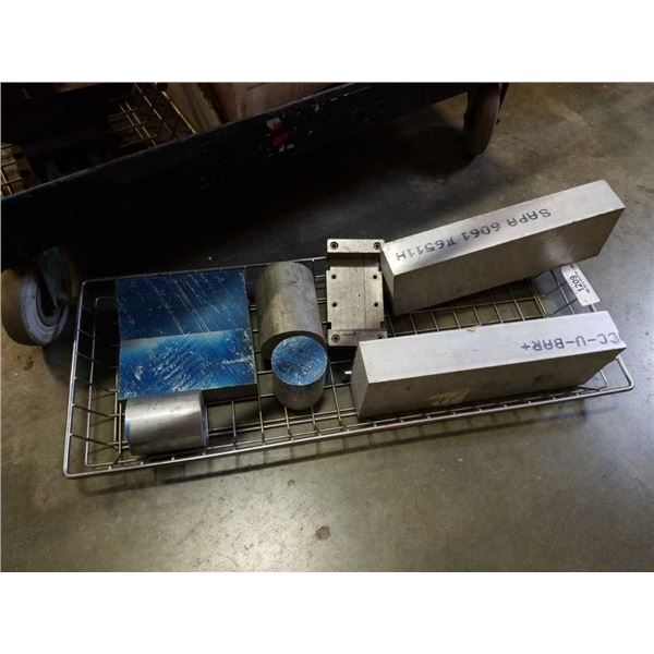 Wire tray of aluminum Billets and clamp